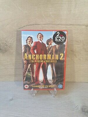 £1.99 • Buy Anchorman 2 Dvd *Brand New And Sealed*