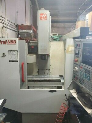 $14500 • Buy Used Haas Mini Mill CNC Vertical Machining Center Mill CT40 Rigid Tap Quick Code