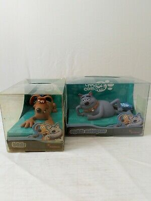 £19 • Buy Creature Comforts Collectable Toys, Trixie And Captain Cuddlepuss By Aardman