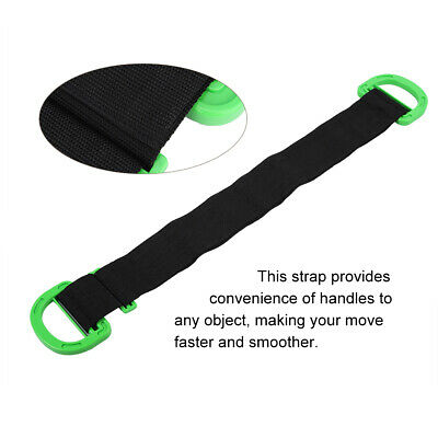 AU18.94 • Buy Moving Straps With Handles Adjustable Moving And Lifting Straps For Furniture