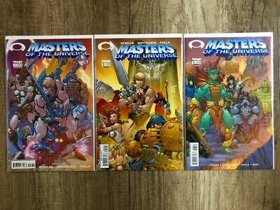 $35.46 • Buy Image Comics MASTERS OF THE UNIVERSE 1-3 Variant Cover B Set HE-MAN #1,2,3