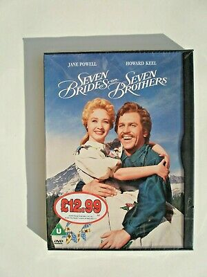 £2.85 • Buy Seven Brides For Seven Brothers Dvd. Comes In A Cardboard Case. Brand New Sealed