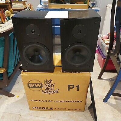 £60 • Buy JPW P1 Speakers - 1 Owner. Boxed. Refoamed With Manual. Good Working Order