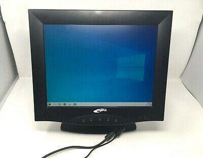 £30 • Buy DigiPoS 15  TFT LCD Monitor With Stand Model:710A - NO CABLES