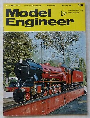 £1 • Buy MODEL ENGINEER MAGAZINE,  21-31 JULY 1972 - Vol.138  No.3445 -  JERSEY LILY  5in