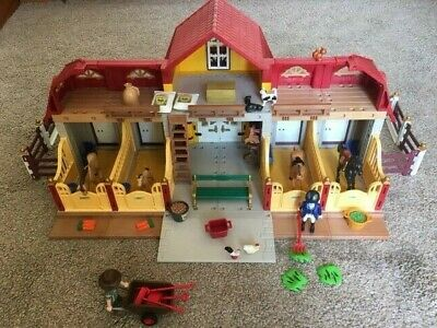 £19.99 • Buy PLAYMOBIL 5221 - Large Horse Farm With Paddock. Excellent Condition.