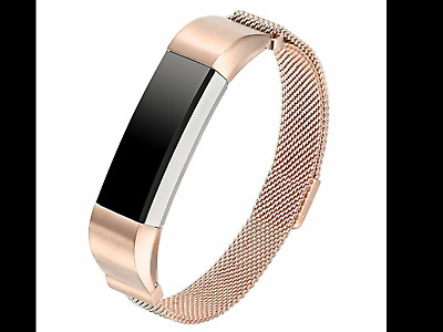 AU21.35 • Buy New For Fitbit Alta / Alta HR Magnetic Bracelet Stainless Steel Watch Band Strap