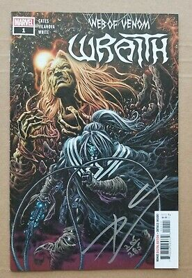 £2.33 • Buy Web Of Venom Wraith 1 Cover Signed By Donny Cates Dynamic Forces Coa