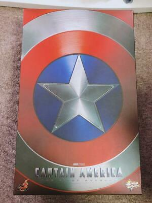$ CDN511.24 • Buy The First Avenger Movie Masterpiece Captain America With 2 Shields Hot Toys