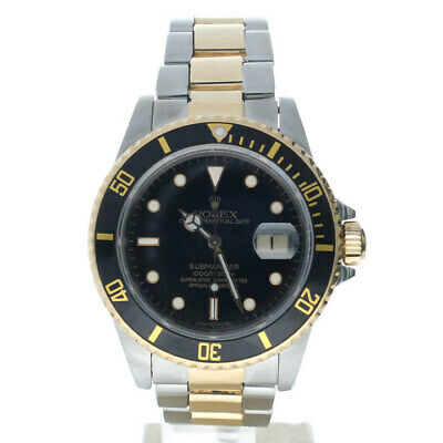 $ CDN13107.68 • Buy Rolex Submariner Stainless-steel 16803 Black Dial Men's 40-mm Automatic