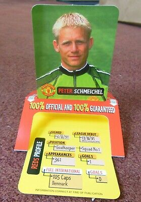 £0.99 • Buy Rare Peter Schmeichel Manchester United  Pop Up Trade Card 1999