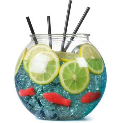 £7.50 • Buy Fish Bowl Cocktail Fishbowl Drinking Games Party Globe Punch Free Post