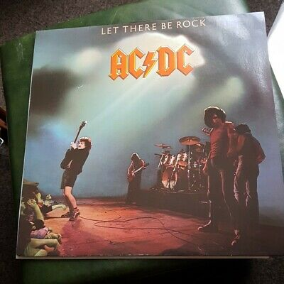 £14.99 • Buy Ac/dc ,let There Be Rock,vinyl Lp,2003 Reissue
