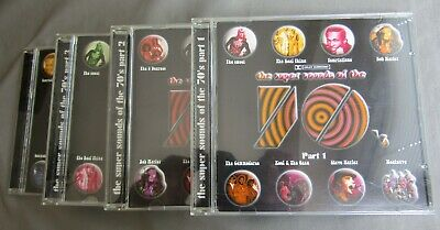 £6.50 • Buy The Super Sounds Of The 70's 4-CD Set Parts 1-4