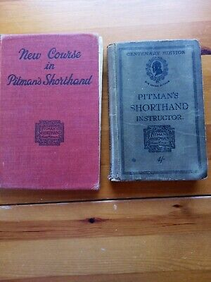 £15 • Buy Pitman Shorthand Book (new Course) And Shorthand Instructor (centenary Edition)
