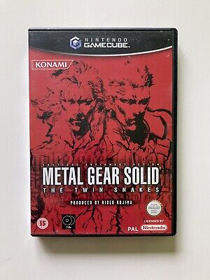 £51 • Buy Metal Gear Solid: The Twin Snakes (Nintendo GameCube, 2004)