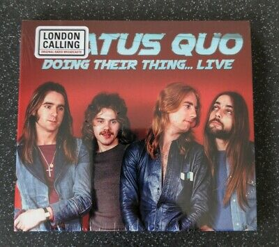 £8 • Buy Status Quo - Doing Their Thing Live 1970 - CD - New & Sealed