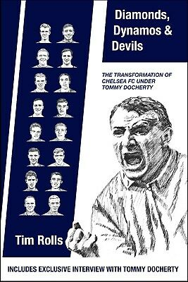 £13 • Buy 'Diamonds, Dynamos & Devils' Book On Tommy Docherty's Time At Chelsea FC 1961-67