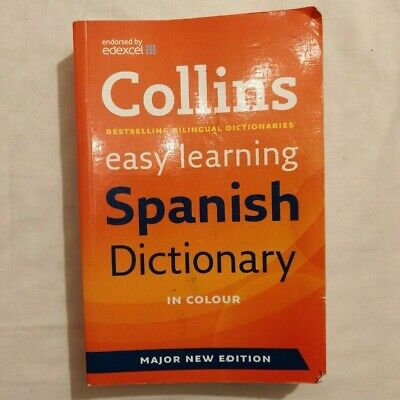 £1.60 • Buy Collins Spanish Dictionary - Colour