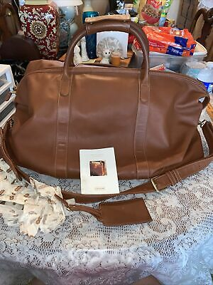 $399.99 • Buy COACH 503L Glove Tanned Leather Large Cabin Travel Duffel Bag Weekender