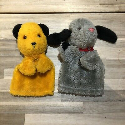£14.99 • Buy Vintage 80's Sooty And Sweep Plush Hand Puppets Patsy Happy Child Toys
