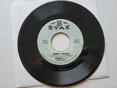£5.75 • Buy BOOKER T. And THE M.G.'S - Green Onions / Behave Yourself 1962 STAX R&B SOUL 7