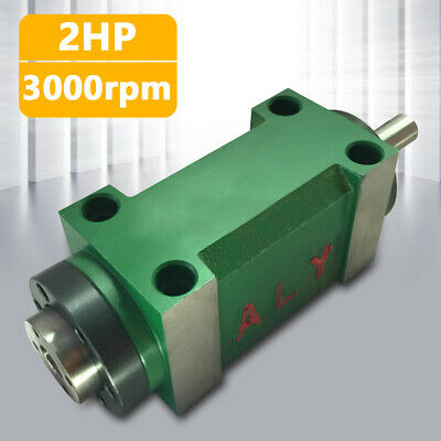 $180 • Buy 1.5kw MT2 Spindle Unit Power Head For CNC Mechanica Milling Drilling Power Head