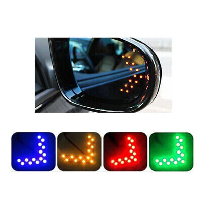 $2.31 • Buy 2PC LED Turning Light 14SMD Arrow Panel Light For Car Rear View Mirror Parts