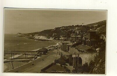£1.50 • Buy Y 396 ISLE OF WIGHT - EARLY POSTCARD OF VENTNOR,LOOKING WEST,1934 - Judges
