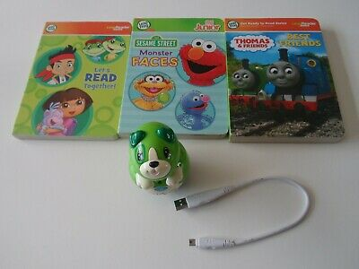 £10.99 • Buy Leap Frog Tag Junior , Usb Cable And 3 Books - Thomas The Tank Sesame Street Vgc