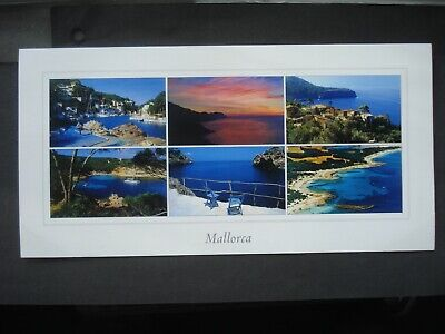 £0.99 • Buy Unused Large Colour Post Card Views Of Mallorca