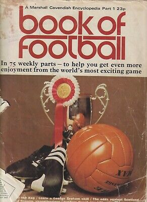 £0.99 • Buy Marshall Cavendish BOOK OF FOOTBALL 1971/1972 Part 1. Front Cover Ripped. Accept