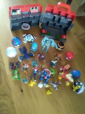 £30 • Buy Pokemon Toys Bundle With Pokemon Training Centre And Pokeballs, Pre-owned