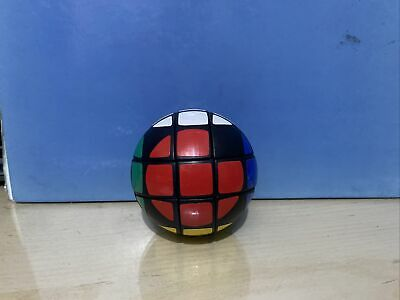 £0.99 • Buy Boxed 1980s Vintage Rubiks Cube Style Round Magic Ball Sphere Puzzle Not Rubiks