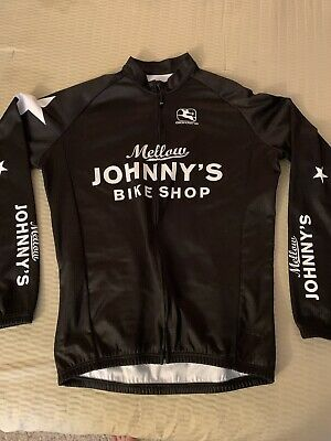 $50 • Buy Mellow Johnny's Giordana Long Sleeve Insulated Cycling Jersey Large