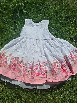 £4.50 • Buy Girls 3-4 Years Party Prom Tutu Dress Spanish Smart Floral Cute Clothes Next Day