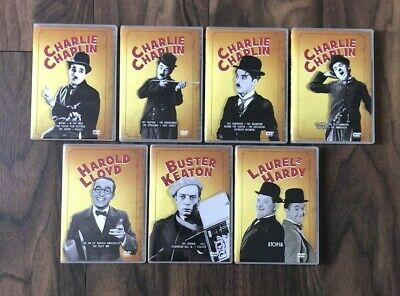 £9.99 • Buy Comedy DVDs Including Charlie Chaplin Buster Keaton Laurel And Hardy Harold Lloy