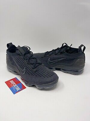 $165 • Buy NIKE AIR VAPORMAX 2021 FLYKNIT TRIPLE BLACK ANTHRACITE DH4084-001 Multiple Sizes