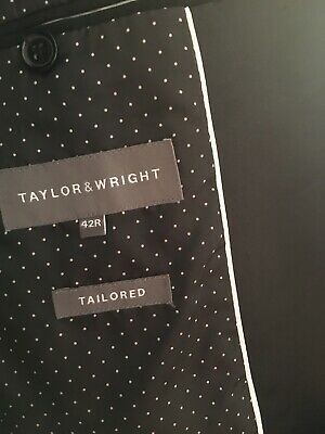 £10 • Buy Mens Taylor And Wright Dinner Suit . Black Size 42 Chest. 32 Waist