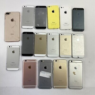 $ CDN36 • Buy Lot Of 16 Apple IPhone 6/6s/5/5c/SE/8 Plus Untested - For Parts Or Repair