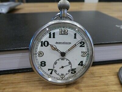 £195 • Buy Rare Ww2 Jaeger Lecoultre G.s.t.p Pocket Watch ''early''