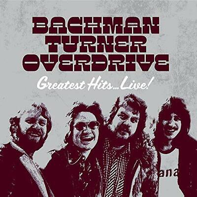 £9.08 • Buy Bachman-turner Overdrive - Greatest Hits Live [cd]