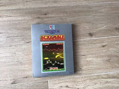 £35 • Buy Vectrex 'scramble' Boxed Game With Overlay And Instructions