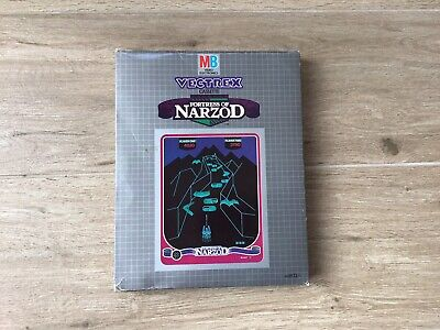 £50 • Buy Vectrex ' Fortress Of Narzod' Boxed Game With Overlay And Instructions