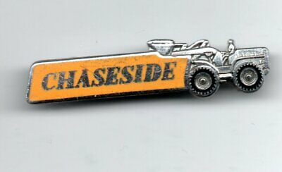 £10 • Buy Maker Collins - Vintage Chaseside Tractors & Machinery Enamel Lapel Pin Badge