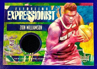$4.99 • Buy Zion Williamson 2019-20 Court Kings Fledgling Expressionist RC Jersey /179
