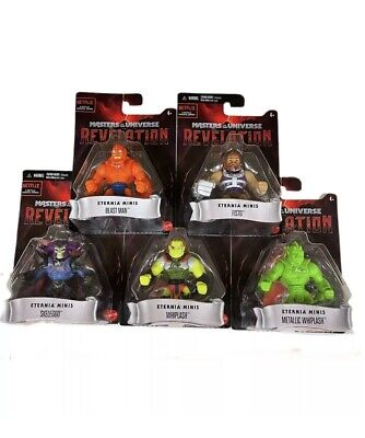 $49.99 • Buy Masters Of The Universe Revelation Eternia Minis Complete 5 Figure Lot