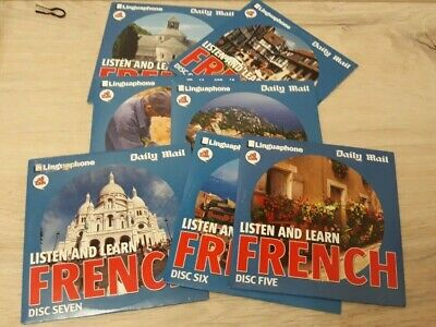 £12 • Buy Linguaphone All Talk Daily Mail Listen And Learn French Full Set 7 CDs