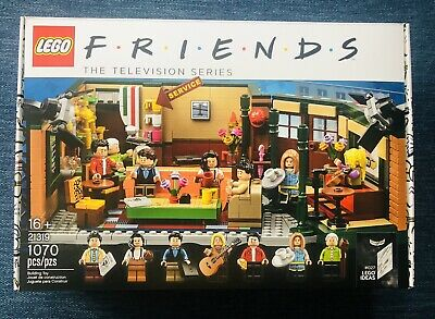 $59 • Buy Lego Friends Central Perk #21319 Factory Sealed -hard To Find!