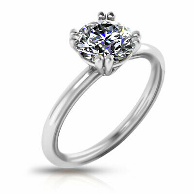 AU4849.12 • Buy GIA Certified Round Cut Diamond Engagement Ring In 14KT Gold G VS1 0.80 Ct